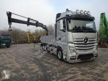 camion Mercedes 2642 Pritsche ATLAS 120,2E 3x hydr. Aussch. Funk