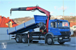 camion Mercedes Axor 2633 Kipper 6,20m + Kran* Topzustand
