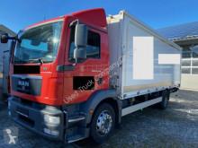 Camion platformă transport băuturi second-hand MAN TGM 18.340LL Schwenkwand Getränkekoffer