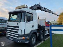 camion Scania 164G-480 FULL STEEL MANUAL + HIAB 700 E-8