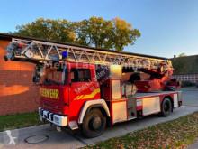 camión Magirus-Deutz 192 DLK 23 Feuerwehr 30 m Korb + 3 t Seilwinde