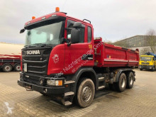 Vrachtwagen Scania G480 6x4 Euro 5 Kipper Meiller Bordmatic tweedehands driezijdige kipper
