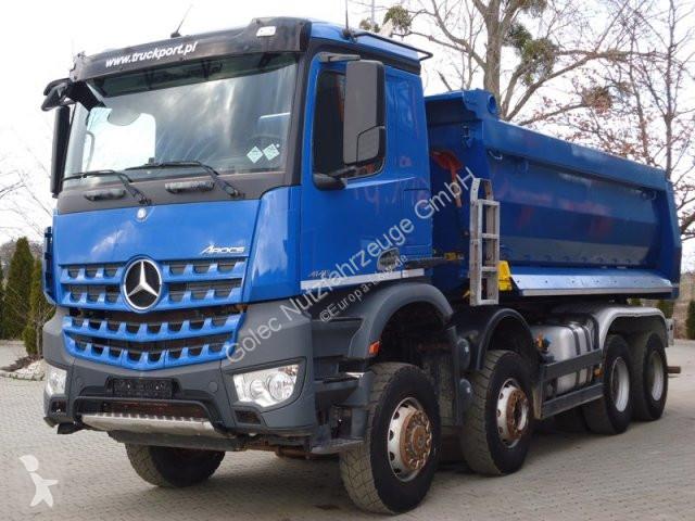 Voir les photos Camion Mercedes Arocs 4145 8x6 EURO6 Muldenkipper TOP!