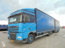 Camion remorque rideaux coulissants (plsc) occasion DAF XF105
