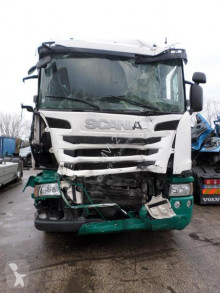 Camion Scania G 320 obloane laterale suple culisante (plsc) accidentat