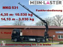 camion DAF XF 430 MKG 531 Kran 4,35 m 10,5T Funksteuerrung