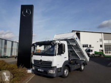 Mercedes three-way side tipper truck Atego 818 K 4x2 Meiller Kipper Klima AHK