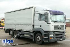 Camión lona corredera (tautliner) MAN 26.350 TGA BL 6x2, 1-A-Zustand, neuwertig, AHK