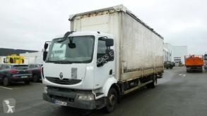 Renault ponyvával felszerelt plató teherautó Midlum 220.16 DXI