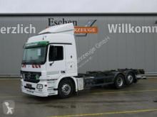 camión Mercedes 2541 LL, 6x2, BDF, unterfaltb. LBW, Retarder