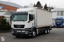 Camión MAN TGS 28.360 tautliner (lonas correderas) usado