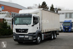 Camion savoyarde MAN TGS 28.360 BL EURO 5 Plane 7,5m/Mitnahmestapler