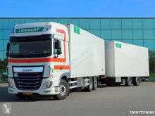 camion remorque DAF XF460 FAR SSC EURO 6 6X2 TOP CONDITION 50 CC FRIGO COMBI