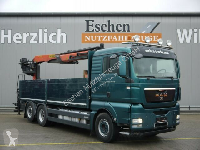 Voir les photos Camion MAN TGX 26.440 6x2-2 LL, Palfinger PK 21001 Kran