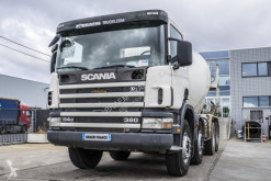 Камион бетон миксер Scania 114C380 + BETONMIXER 9M³