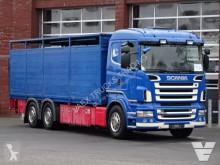 Camión remolque ganadero para ganado bovino Scania R 500
