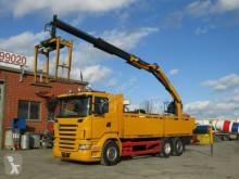 Scania R 400 6x2 Pritsche Heckkran Palfinger PK 18000 LKW