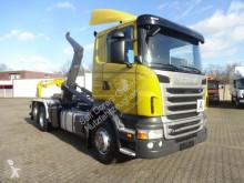 Scania R480 Abrollkipper MEILLER 6x2 Lenk-Liftachse LKW