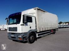 Camião MAN TGM 18.280 caixa aberta com lona usado