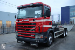 Scania G truck used container