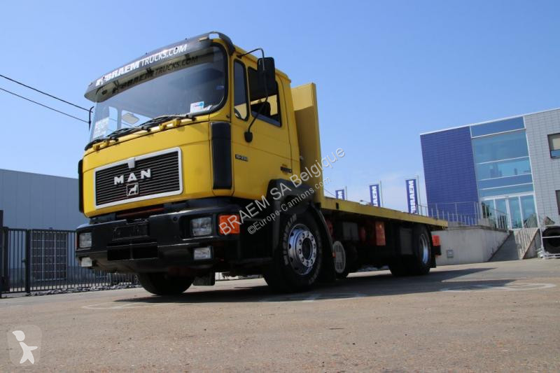 Voir les photos Camion MAN 19.332 BL + TIPPER/BENNE