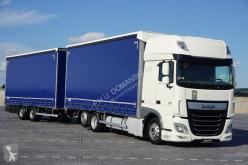 ciężarówka firanka DAF