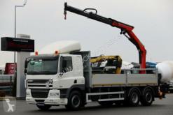 camion DAF CF 85.410/6X2/ BOX-6,2M+CRANE PALFINGER PK16001