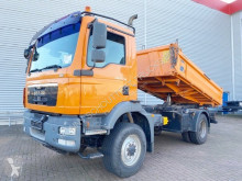 Camión MAN TGM 13.250 4x4 BL 13.250 4x4 BL, EEV-Motor, Kranvorbereitung volquete trilateral usado