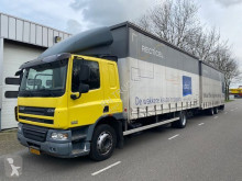 DAF CF75 trailer truck used tautliner