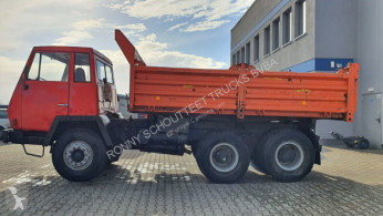 Steyr Andere 1491 6x4 SHD truck used three-way side tipper
