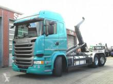 Scania R 410 6x2 Abrollkipper Meiller, Lift/Lenk LKW