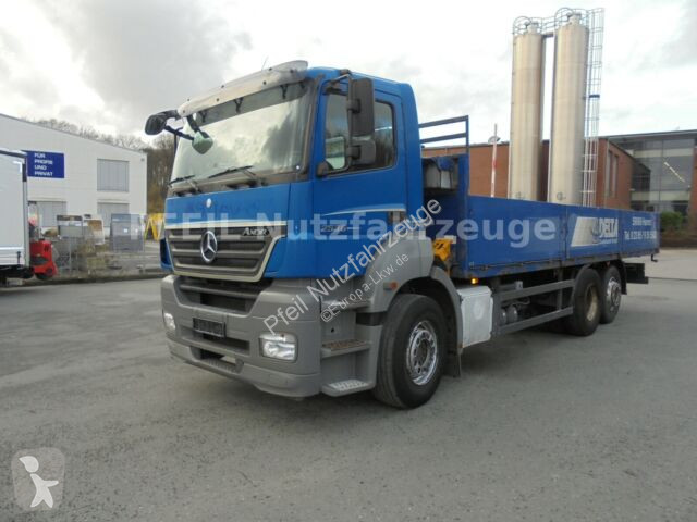 View images Mercedes Axor 25-36 Pritsche- MANUAL- EURO 5 truck