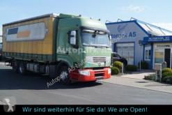 Camião caixa aberta com lona Renault Premium 460 DXI hydraulischer hubrahmen Klima