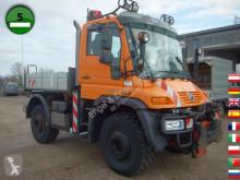 Camion Unimog U 400 405/12 Vario Pilot EURO 5 Klima SFZ plateau ridelles occasion