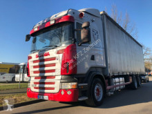 Scania R380 truck used tautliner