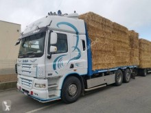 DAF CF85 460 truck used straw carrier flatbed