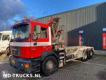 MAN 28 364 manual HMF crane 22 ton truck