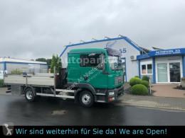 MAN dropside truck TGL 8.180 4x2 Kran Hiab Tempomat