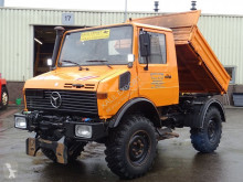 vrachtwagen Unimog 424 Kipper 6 Cilinder Engine U1000 Top Condition