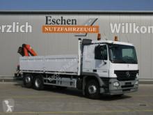 Camion plateau ridelles Mercedes 2532 L 6x2 Pritsche Palfinger PK 12502,Funk,Lift