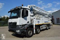 Camion calcestruzzo pompa per calcestruzzo Mercedes Arocs 4451 SERMAC 5Z42 SuperLight*42m*Europäisch