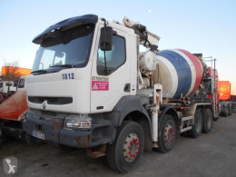 Renault Kerax 370 truck used concrete mixer + pump truck concrete