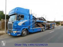 Camion porte voitures occasion Scania R440*E6*Ret.*Metago/Metago*Eig Fuhrpark*TOP