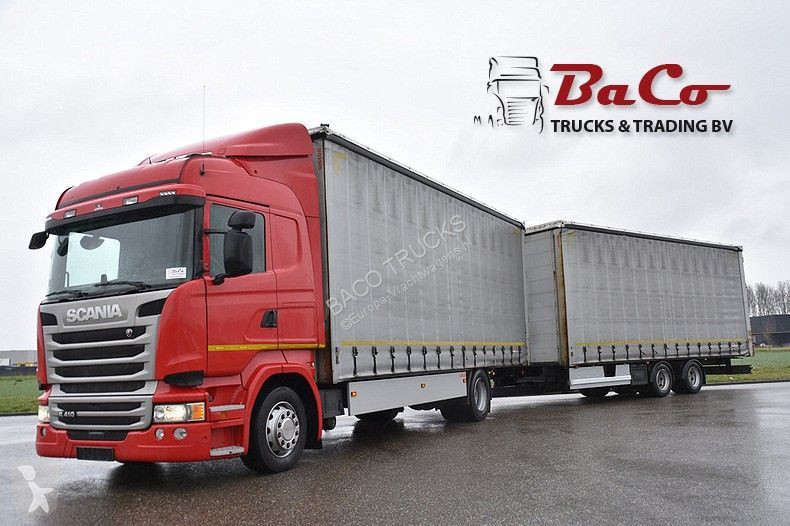 View images Scania R 410 trailer truck