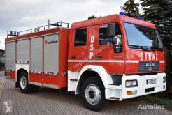 Camion MAN LE 18.280 GCBA 5/40 CERTYFIKAT CNBOP *5000L+500L* ROSENBAUER pompiers occasion