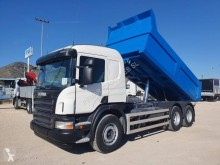 Scania P 340 CB truck used tipper