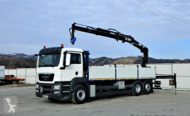camion MAN TGS 26.400 Pritsche 7,30 m+Kran/FUNK*6x2!