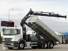 Mercedes AXOR 2633 /6x4/ KIPPER+CRANE HIAB 200C/RADIO truck