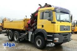 MAN 33.410 BB TGA, Kran HMF 2820K6 + Jib + seilwinde truck