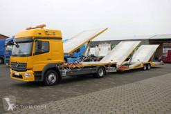 камион Mercedes 1230 L Autotransporterzug Doppelstock Kuvvetli